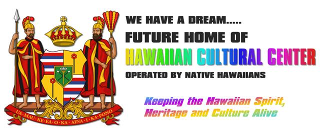 Hawaiian Cultural Center Banner